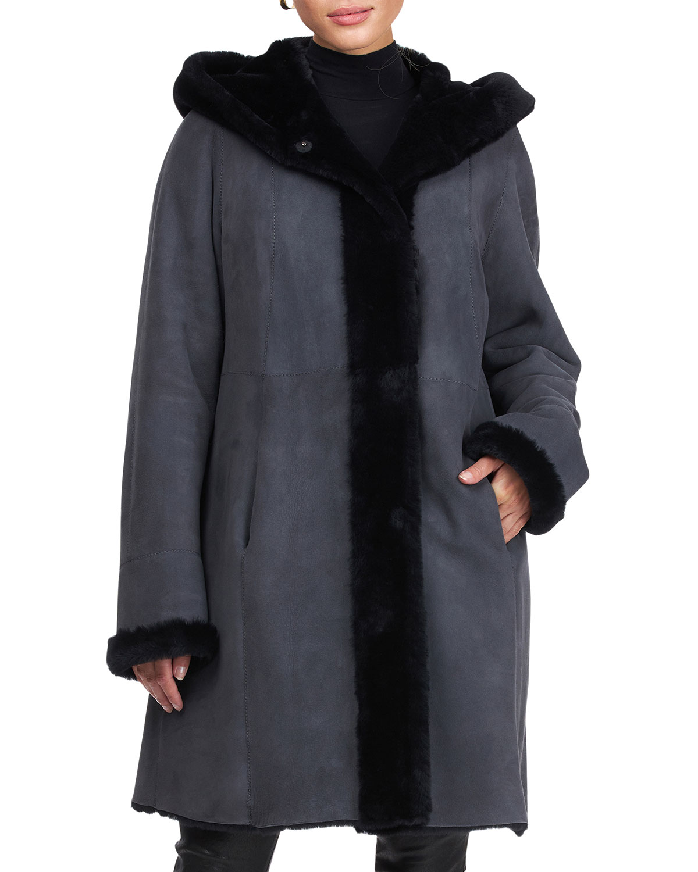 Reversible Lamb Shearling Coat