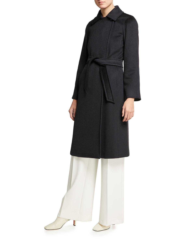 Manuela Belted Wrap Coat
