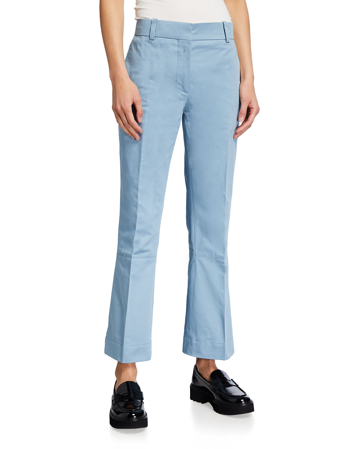 Tailored Trousers with Piping