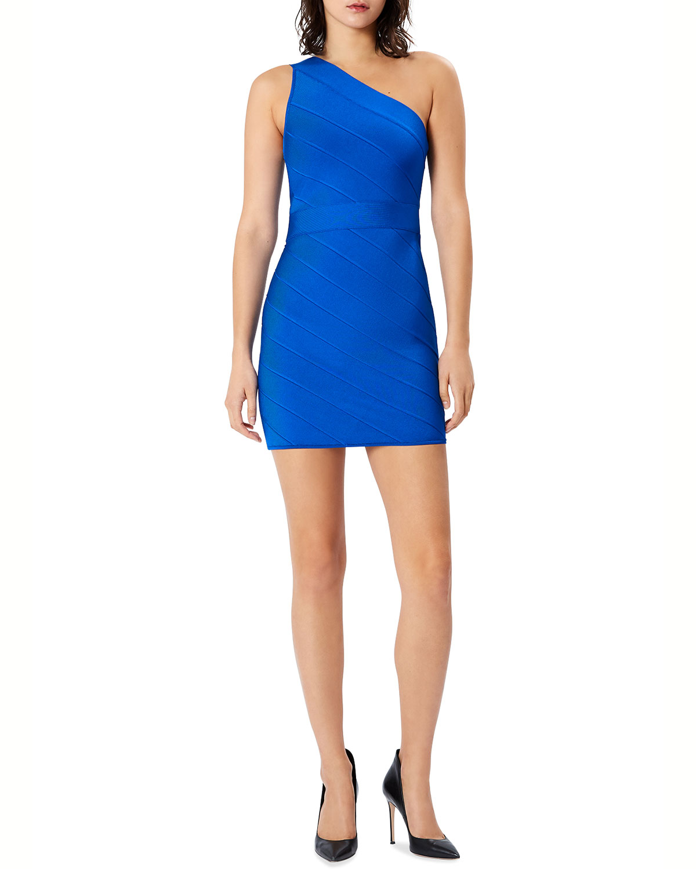 Icon One-Shoulder Mini Dress