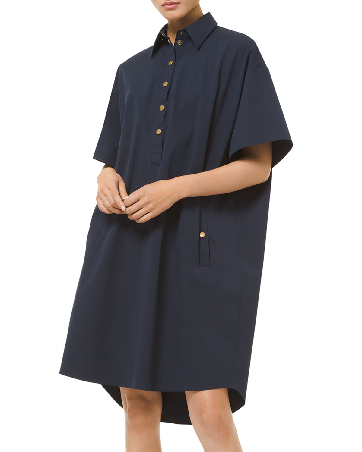 Michael Kors HIGH-LOW SHIFT DRESS