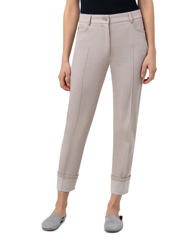 Maxima Cropped Denim Pants