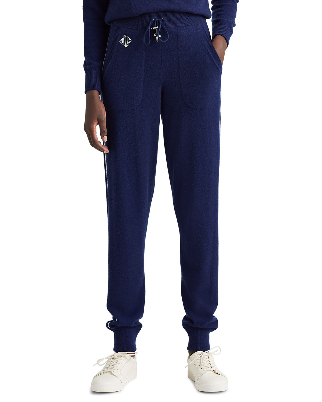 Ralph Lauren CASHMERE JOGGING PANTS W/ PIPING