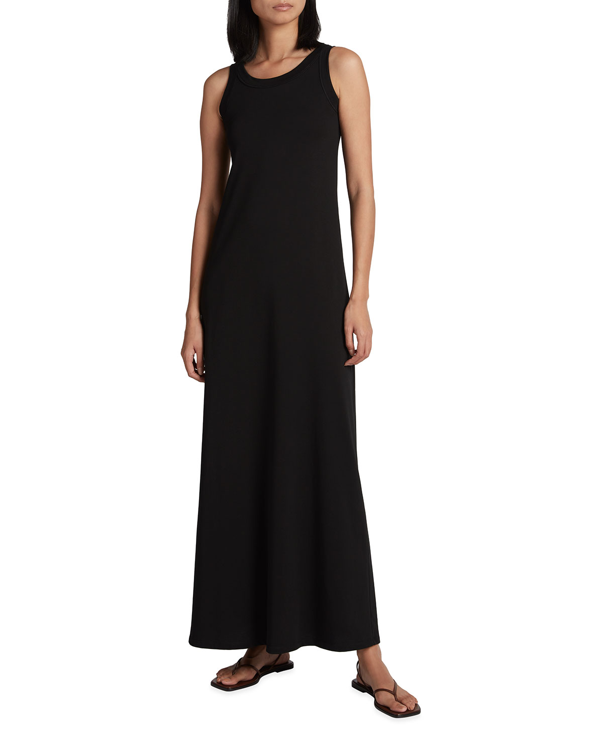 The Row Cottons ELKIE RIBBED TANK DRESS