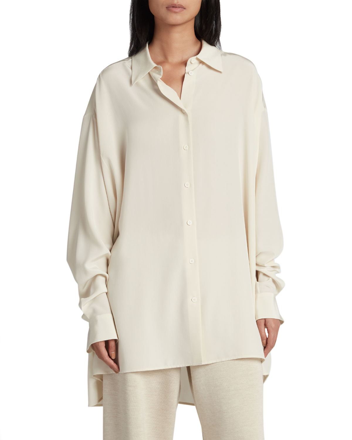 The Row LUKA OVERSIZED BUTTON-DOWN SHIRT