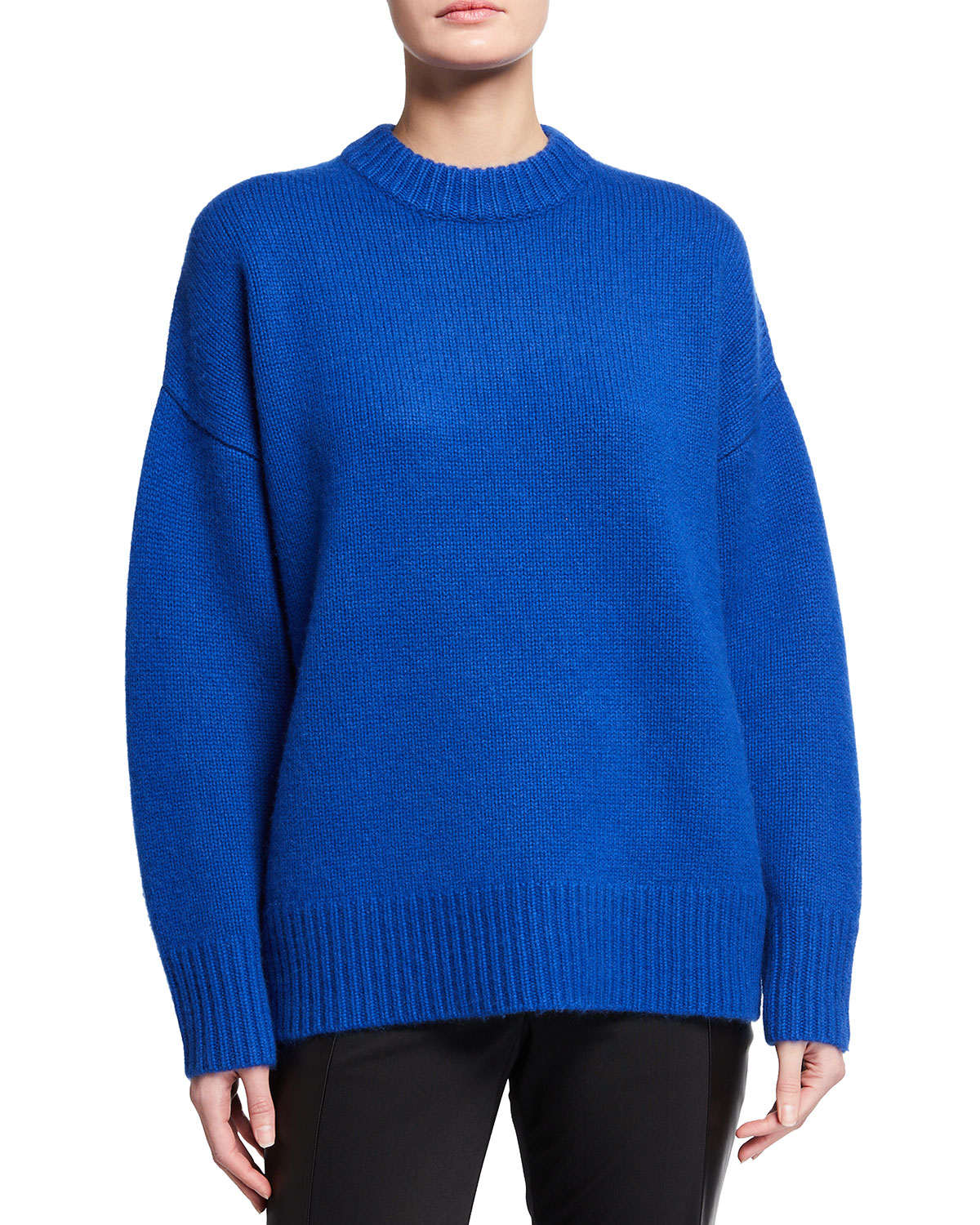Co CASHMERE OVERSIZED SWEATER