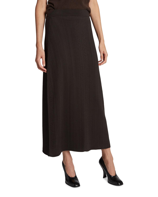 Centella Silk Maxi Skirt
