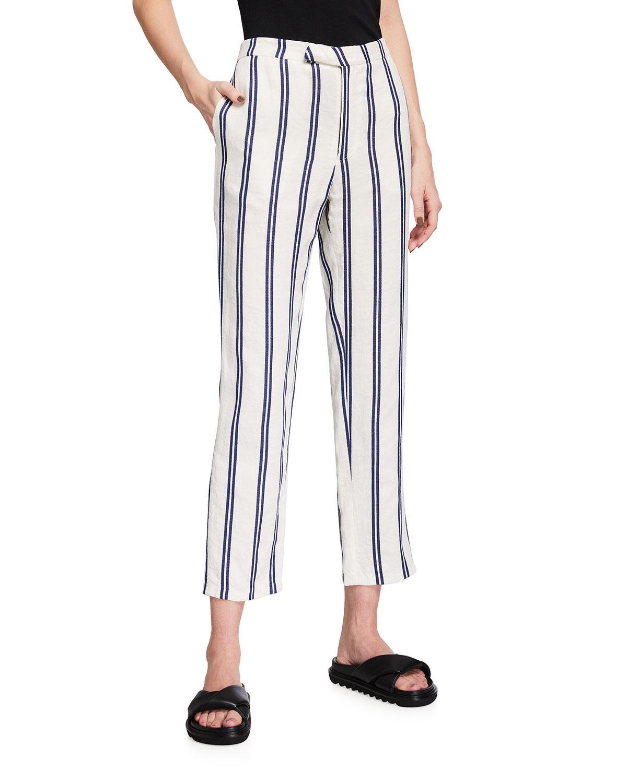 Vintage French Ticking Stripe Pants