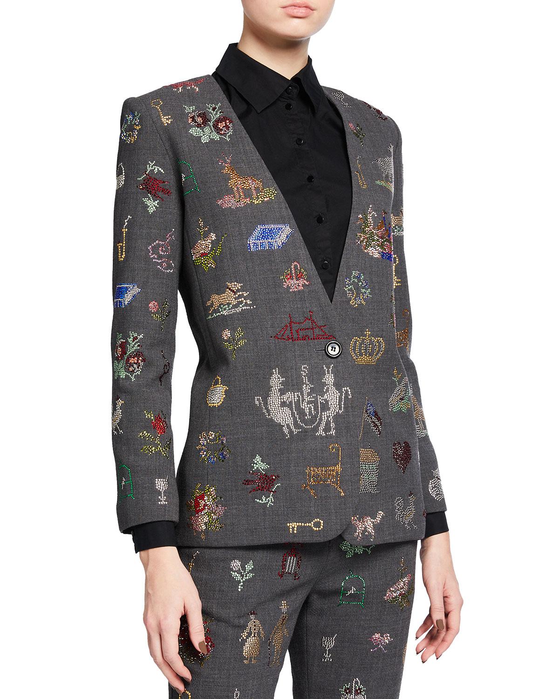 19th Century Sampler Embellished Jacket