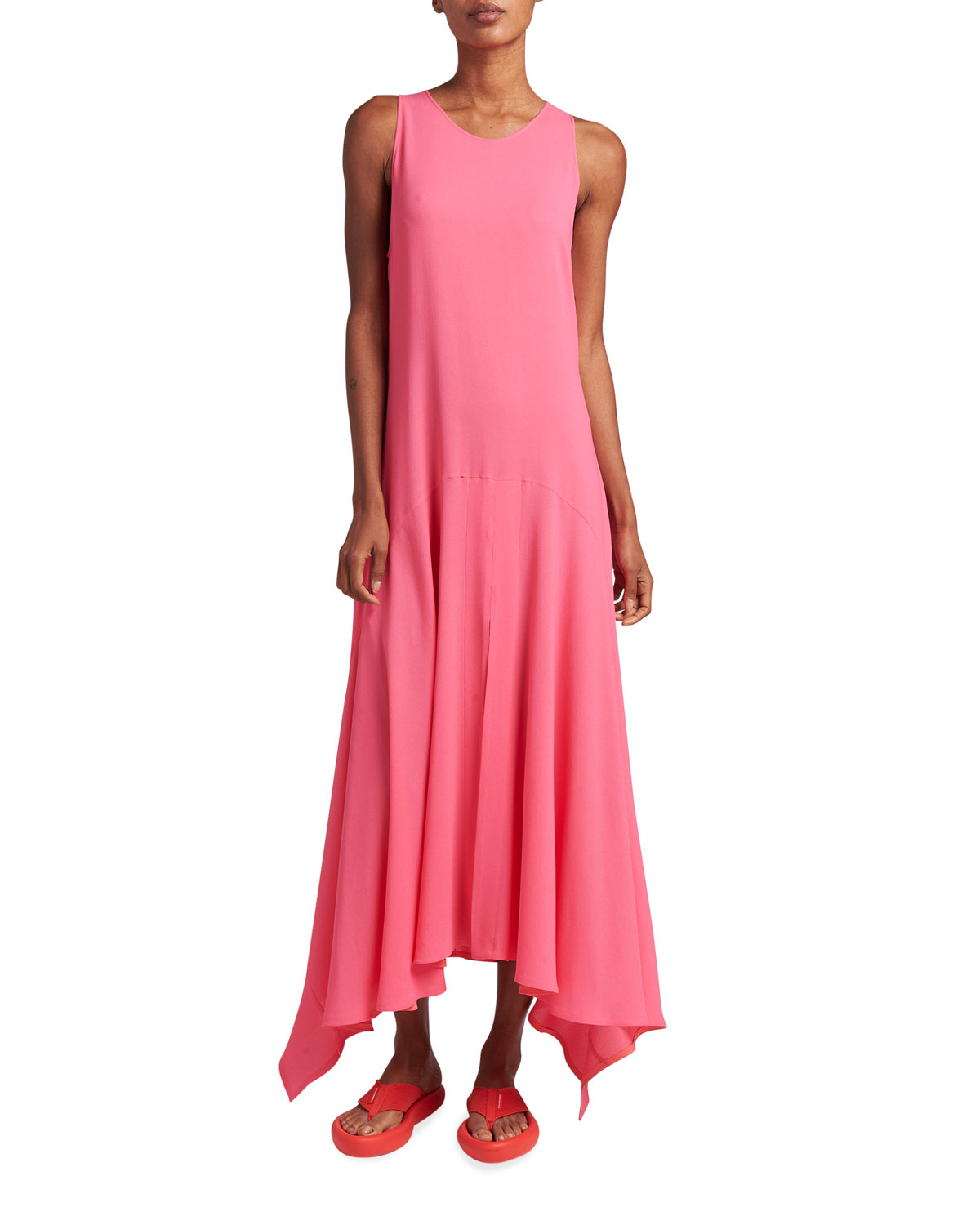 Stella Mccartney ANABELLE VISCOSE-BLEND MAXI DRESS
