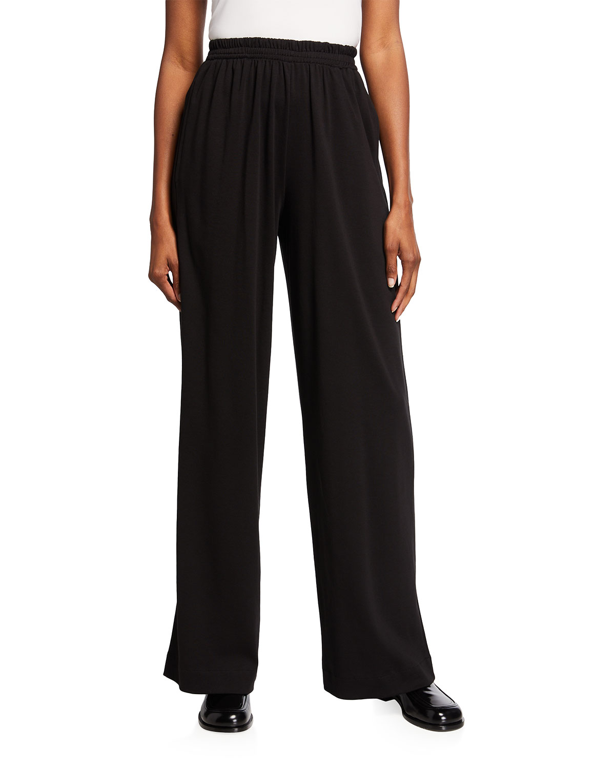 Solid Pima Cotton Trousers