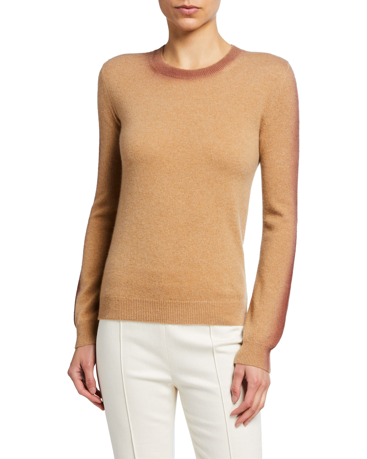 Spray Painted Cashmere Sweater