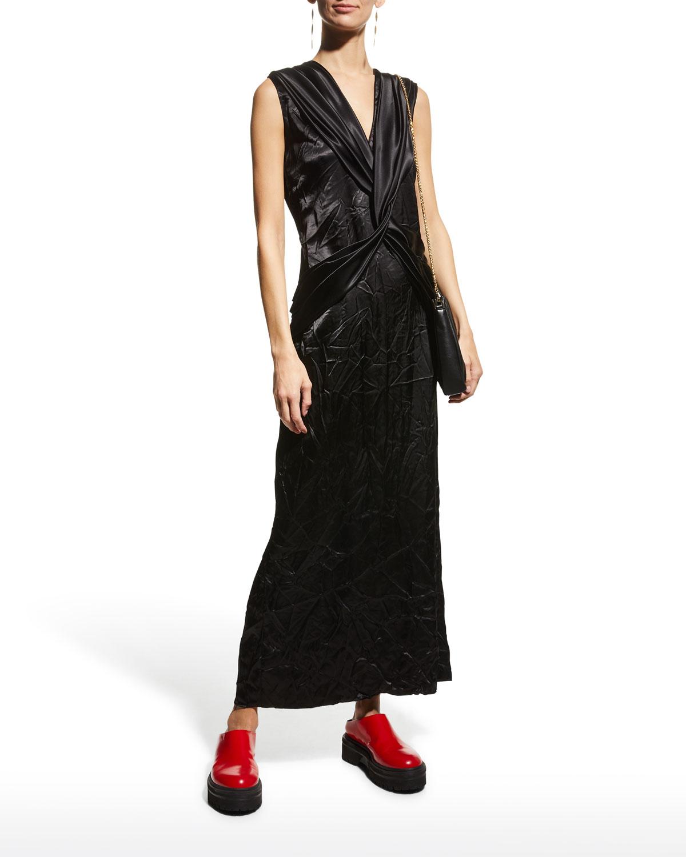 Twist Harness Sheath Dress