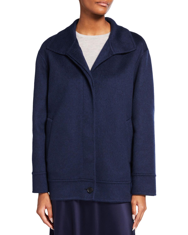 Matteo Short Cashmere Coat