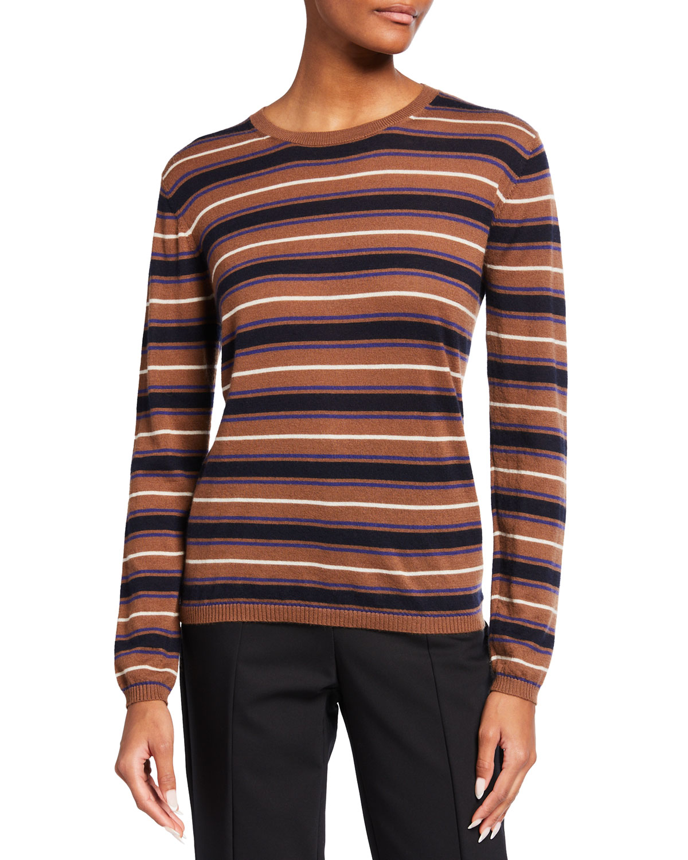 Marmo Striped Cashmere Sweater
