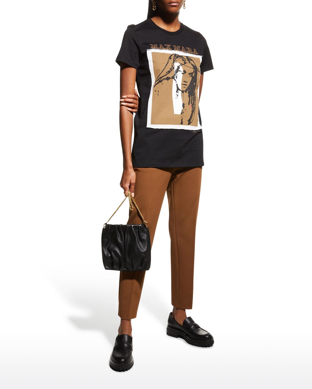 Divina Graphic Print T-Shirt