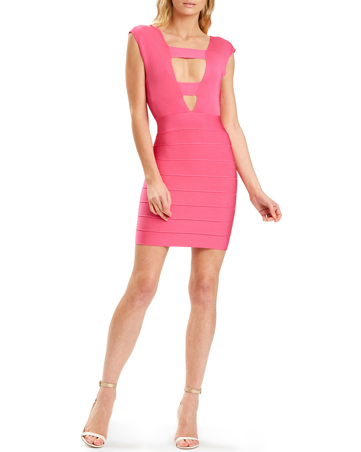 Plunging Strappy Icon Dress
