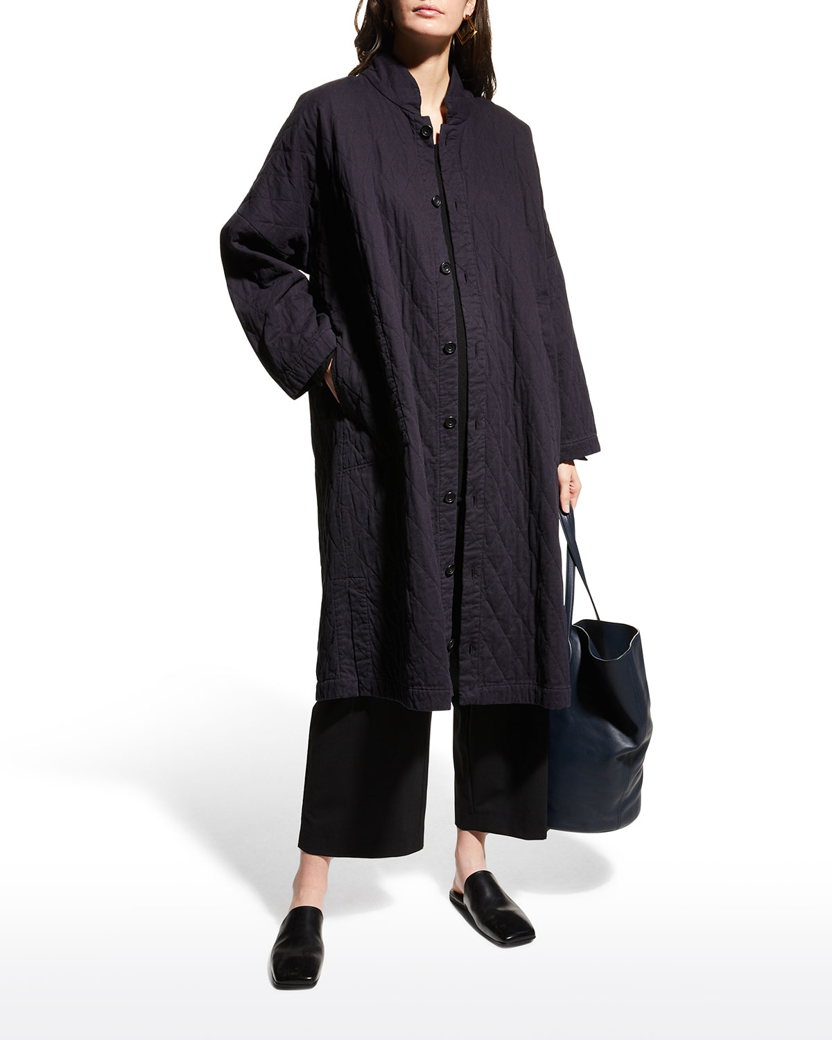Imperial Long Quilted Coat