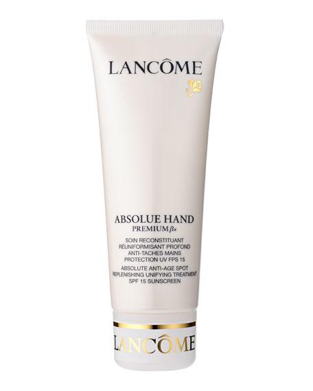 Lancome 3.4 oz. Absolue Hand Premium Bx SPF 15