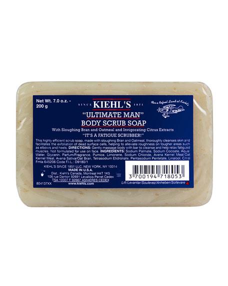 """Kiehl's Since 1851 7 oz. """"Ultimate Man"""" Body Scrub Soap"""