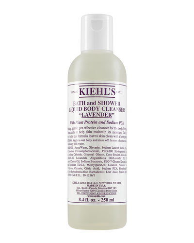 Lavender Bath & Shower Liquid Body Cleanser, 8.4 oz.