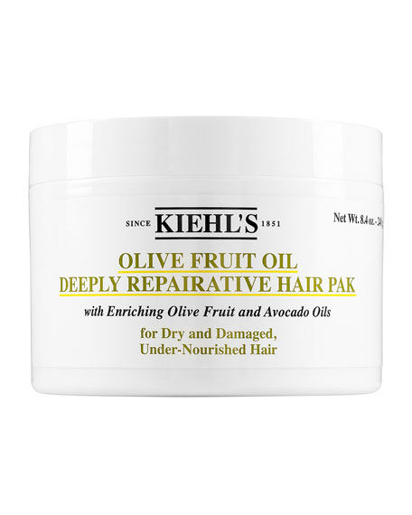 Kiehl's Since 1851 8 oz. Olive Fruit Oil Deeply Repairative Hair Pak