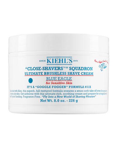 Kiehl's Since Ultimate Brushless Shave Cream - Blue Eagle, 8.0 Oz.