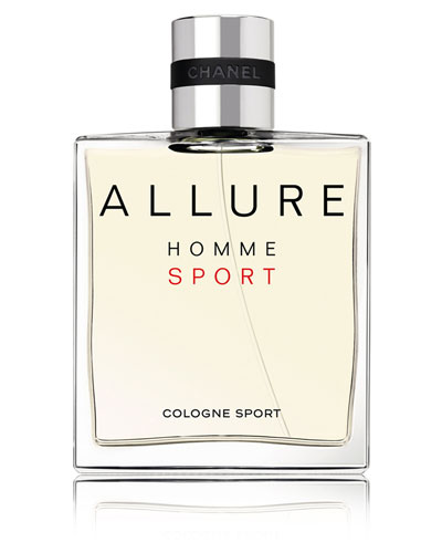 <b>ALLURE HOMME SPORT</b><br>Cologne Sport Spray, 5.0 oz./ 148 mL