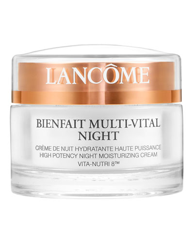Bienfait Multi-Vital Night Cream - Highly Potent Overnight Face ...