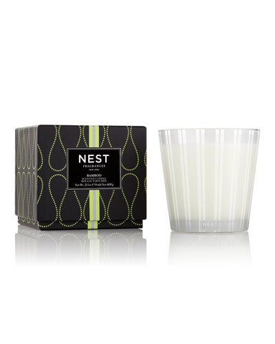 Bamboo 3-Wick Candle, 21.2 oz./ 600 g