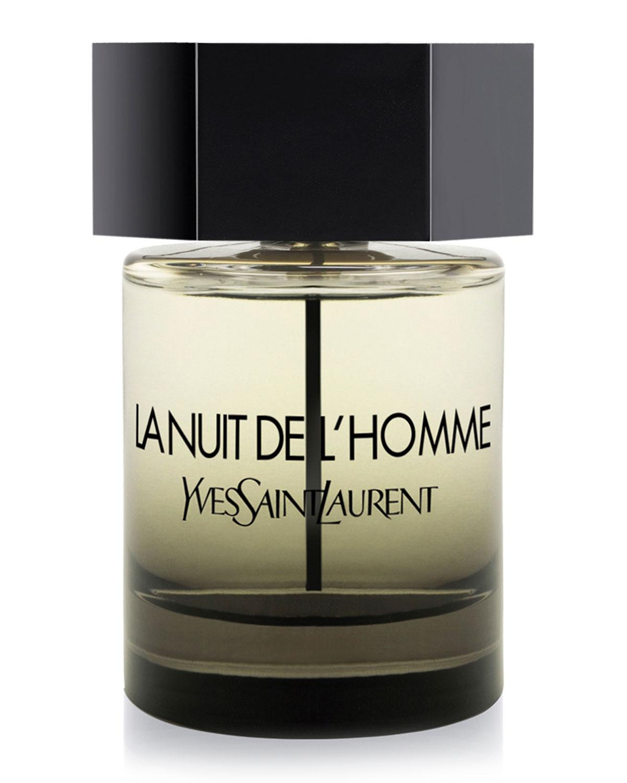 SAINT LAURENT Le Nuit De L'Homme Eau De Toilette, 3.3 Oz./ 100 Ml