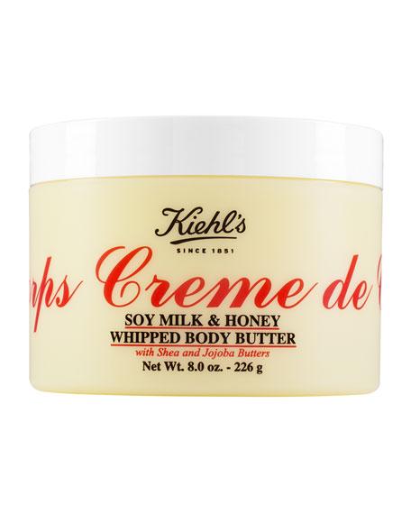 Kiehl's Since 1851 8 oz. Creme de Corps Soy Milk & Honey Whipped Body Butter