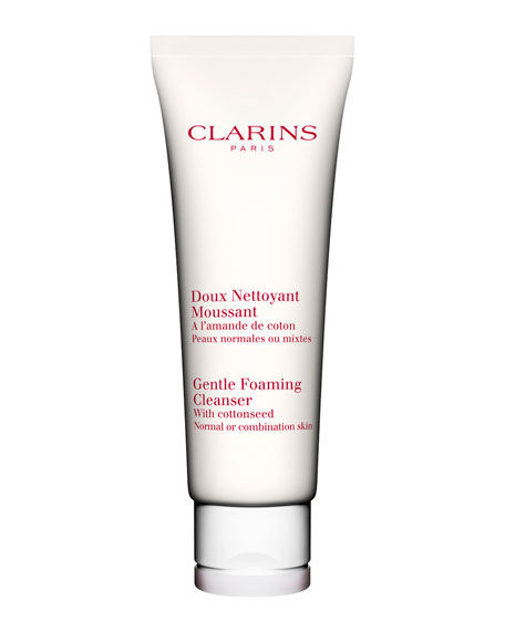 Clarins Gentle Foaming Cleanser with Cottonseed, Normal / Combination Skin