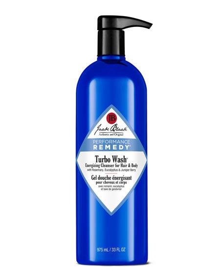 Jack Black 33 oz. Turbo Wash Energizing Hair & Body Cleanser