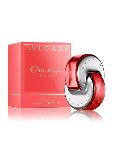 Omnia Coral Eau de Toilette, 65 mL/ 2.2 oz.