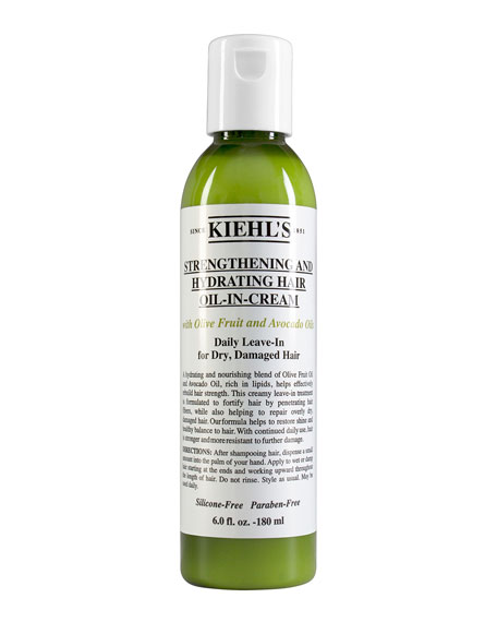 Kiehl's Since 1851 6 oz. Strengthening and Hydrating Hair Oil-In-Cream