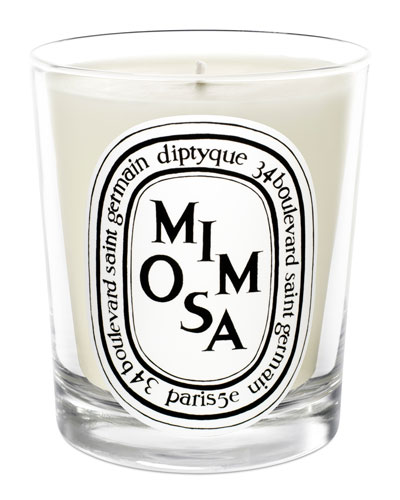 Mimosa Scented Candle, 190g
