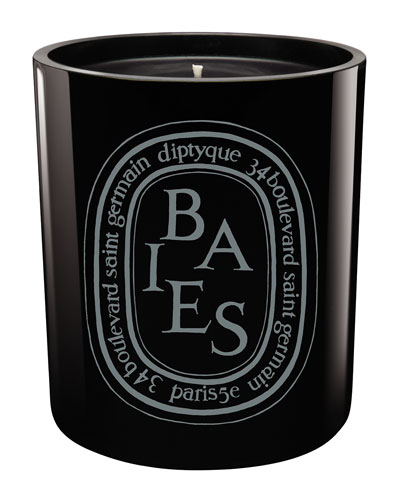 Black Baies Scented Candle