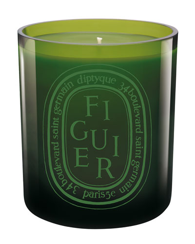 Green Figuier Scented Candle