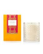 Agraria Cedar Rose Woven Crystal Perfume Candle, 7