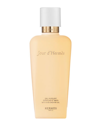 Jour d'Hermès Perfumed Bath and Shower Gel, 6.7 oz.