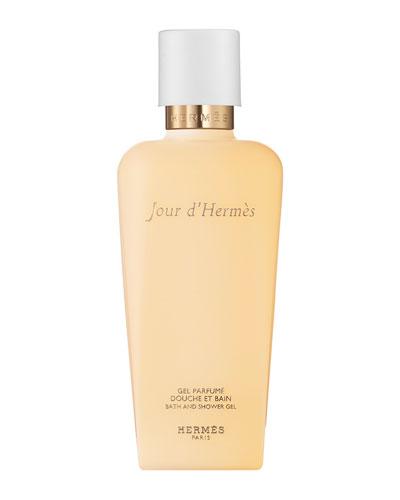 Jour d'Hermès Perfumed Bath and Shower Gel, 6.7 oz.