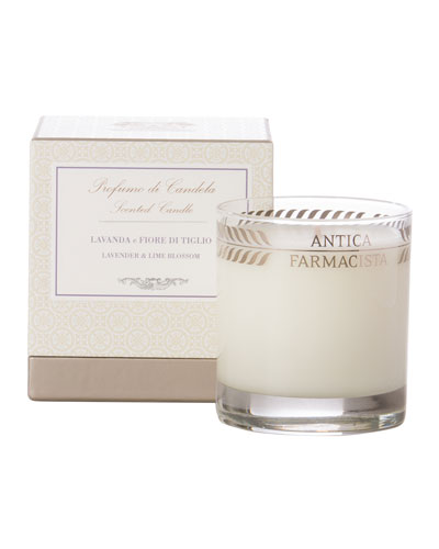 Lavender & Lime Blossom Scented Candle, 9 oz.