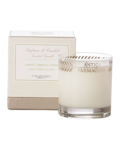 Antica Farmacista Lemon, Verbena & Cedar Scented Candle, 9 Oz.