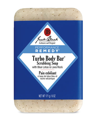 Turbo Body Bar Scrubbing Soap, 6 oz.