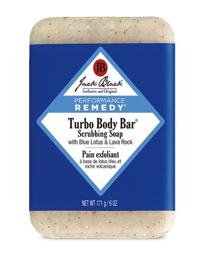 Turbo Body Bar Scrubbing Soap, 6 oz.