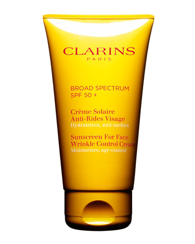 Sunscreen for Face, Wrinkle Control Cream SPF 50, 2.5 oz./ 74 mL