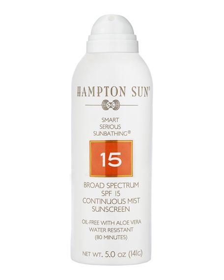 Hampton Sun 5 oz. SPF 15 Continuous Mist