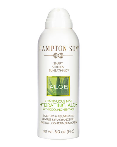 Hydrating Aloe Continuous Mist, 5 oz./ 148 mL