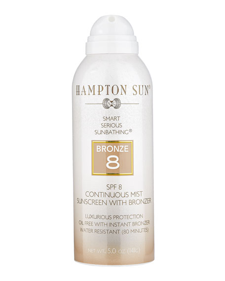 Hampton Sun SPF 8 Instant Bronze Mist, 5 oz./ 148 mL